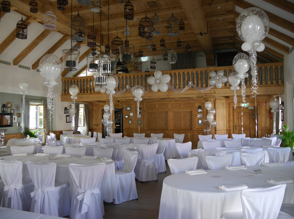 Hochzeiten pittsballoon - Luftballon deko ...